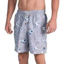 Tommy Bahama Naples Bali Blossom Swim Trunks (For Men) in Type Writer - Closeouts