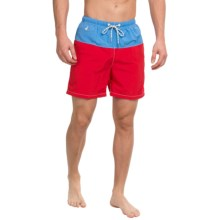 Tommy Bahama Naples Block Party Swim Trunks (For Men) in Chilean - Closeouts