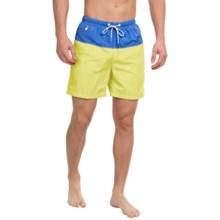 Tommy Bahama Naples Block Party Swim Trunks (For Men) in Lemon Flash - Closeouts