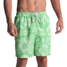 Tommy Bahama Naples Napoli Swim Trunks (For Men) in Dublin Green - Closeouts
