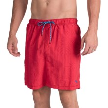 Tommy Bahama Naples Tiki Palm Swim Trunks (For Men) in Chilean - Closeouts