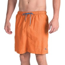 Tommy Bahama Naples Tiki Palm Swim Trunks (For Men) in Crisp Orange - Closeouts