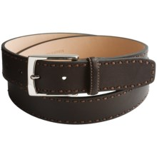 Tommy Bahama Palms Away Leather Belt (For Men) in Brown - Closeouts