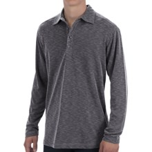 Tommy Bahama Paradise Blend Polo Shirt - Long Sleeve (For Men) in Black - Closeouts