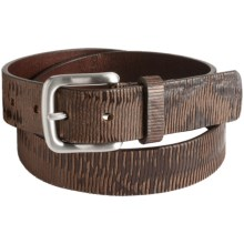 Tommy Bahama Paradise Ridge Leather Belt (For Men) in Brown - Closeouts