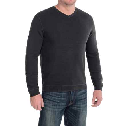 Tommy Bahama Paradise Ridge Sweater - Silk Blend, V-Neck (For Men) in Black - Closeouts