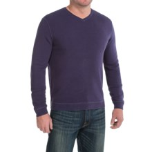 Tommy Bahama Paradise Ridge Sweater - Silk Blend, V-Neck (For Men) in Eggplant - Closeouts