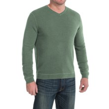 Tommy Bahama Paradise Ridge Sweater - Silk Blend, V-Neck (For Men) in Military - Closeouts