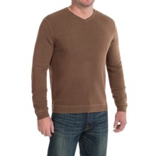 Tommy Bahama Paradise Ridge Sweater - Silk Blend, V-Neck (For Men) in Portobello Sauce - Closeouts