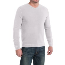 Tommy Bahama Paradise Ridge Sweater - Silk Blend, V-Neck (For Men) in Silver Sky - Closeouts