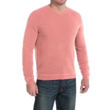 Tommy Bahama Paradise Ridge Sweater - Silk Blend, V-Neck (For Men) in Sun Coral - Closeouts