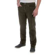 Tommy Bahama Parker Corduroy Pants - Vintage Straight Fit, Low Rise (For Men) in Maduro - Closeouts