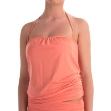 Tommy Bahama Pearl Blouson Bandini Swim Top (For Women) in Coral - Overstock
