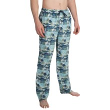 Tommy Bahama Print Lounge Pants (For Men) in Blue Waves - Closeouts