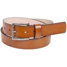 Tommy Bahama Regale Primo Leather Belt (For Men) in Tan - Closeouts