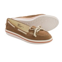 Tommy Bahama Relaxology® Castille Boat Shoes - Leather (For Women) in English Tan/Natural - Closeouts