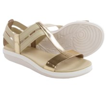 Tommy Bahama Relaxology® Illana Sandals - Leather (For Women) in Light Gold - Closeouts