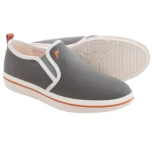 Tommy Bahama Relaxology® Ryver Canvas Shoes - Slip-Ons (For Men) in Dark Grey - Closeouts