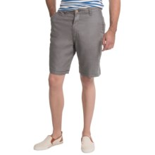 Tommy Bahama Salut Linen Shorts - Reversible (For Men) in Shadow - Closeouts