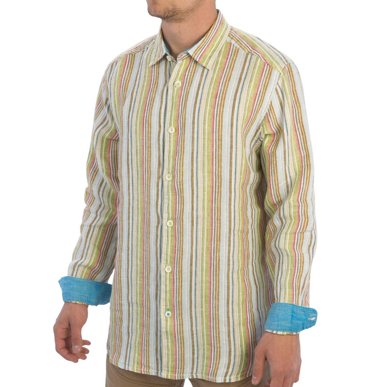 Tommy bahama seaworthy breezer shirt linen long sleeve for Tommy bahama long sleeve dress shirts
