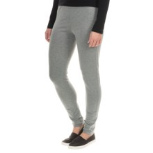 Tommy Bahama Seeby Leggings - Pima Cotton (For Women) in Gunmetal Heather - Overstock