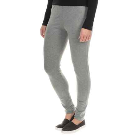 Tommy Bahama Seeby Leggings - Pima Cotton (For Women) in Gunmetal Heather - Overstock