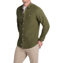 Tommy Bahama Seeing Double Shirt - Long Sleeve (For Men) in Olive Heather - Closeouts