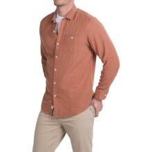Tommy Bahama Seeing Double Shirt - Long Sleeve (For Men) in Rust Heather - Closeouts
