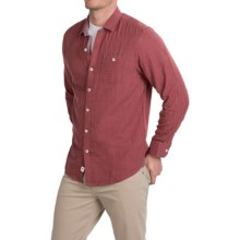 Tommy Bahama Seeing Double Shirt - Long Sleeve (For Men) in Wine Heather - Closeouts
