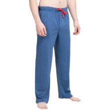 Tommy Bahama Solid Cotton-Modal Jersey Lounge Pants(For Men) in Navy - Closeouts