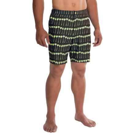 Tommy Bahama St. Tropez Palm Ave. Boardshorts (For Men) in Coal - Closeouts