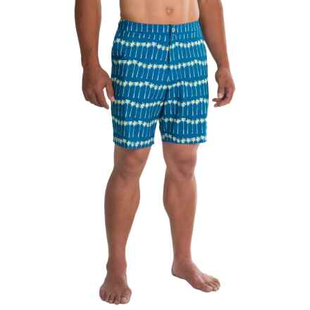 Tommy Bahama St. Tropez Palm Ave. Boardshorts (For Men) in Electric Marine - Closeouts