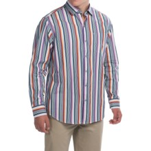 Tommy Bahama Sunset Surf Striped Shirt - Long Sleeve (For Men) in Continental - Closeouts