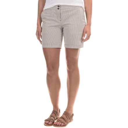 Tommy Bahama Tracy Stretch Striped Shorts (For Women) in Briarwood - Overstock