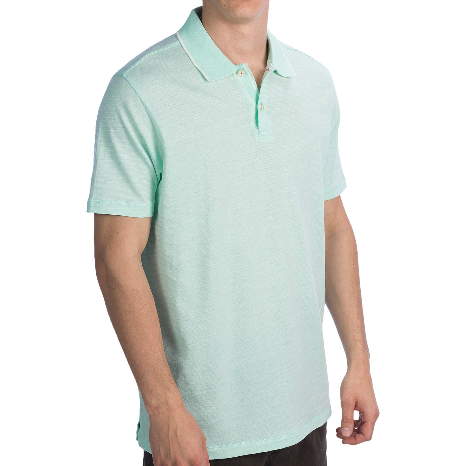 Tommy Bahama Vespa Polo Shirt Cotton Linen Short Sleeve
