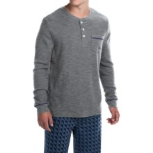 Tommy Bahama Waffle Thermal Knit Shirt - Long Sleeve (For Men) in Grey Heather - Closeouts