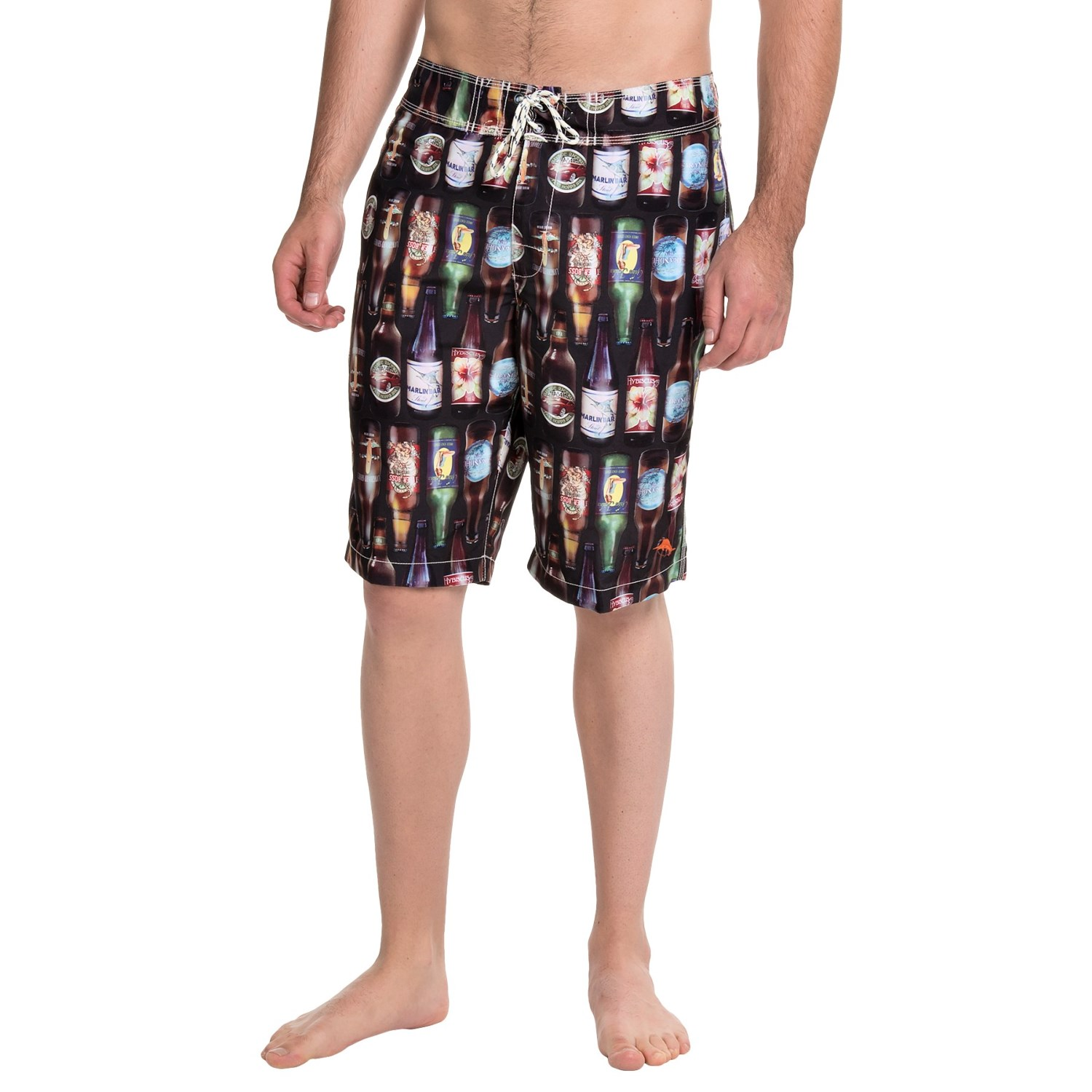Tommy Bahama Furniture Closeouts #19: Tommy Bahama Waikiki 99 Bottles Of Beer Boardshorts (For Men) In Black - Closeouts