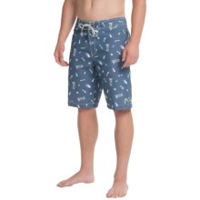 Tommy Bahama Waikiki Mojito Boardshorts (For Men) in Dockside Blue - Closeouts