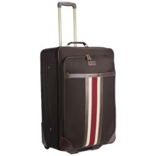 "Tommy Hilfiger Fieldhouse Expandable Upright Rolling Suitcase - 24"" in Brown - Closeouts"