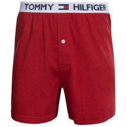 Tommy Hilfiger Knit Boxers - 2-Pack (For Men) in Mahogany