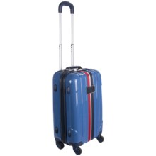 "Tommy Hilfiger Lochwood Spinner Suitcase - 21"", Carry-On in Light Blue - Closeouts"