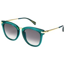 TOMS Adeline Sunglasses (For Women) in Seaglass Gold Midnight Blue/Grey Gradient - Closeouts