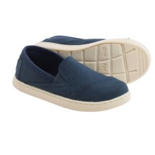 TOMS Avalon Shoes - Slip-Ons (For Little and Big Kids) in Navy - Closeouts
