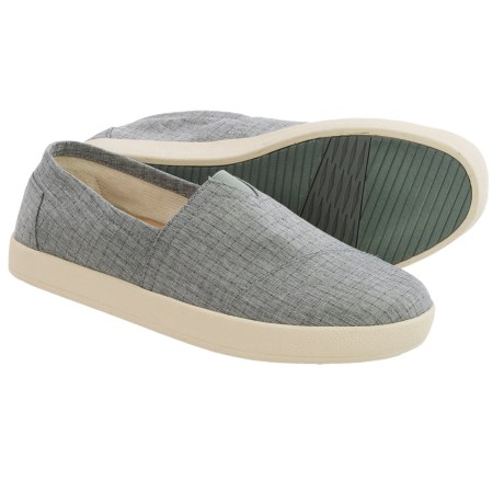TOMS Avalon Shoes Slip Ons (For Men)