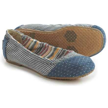TOMS Ballet Flats (For Little and Big Girls) in Grey - Closeouts
