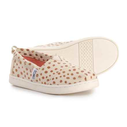 TOMS Bimini Espadrilles (For Girls) in Rose Gold - Closeouts