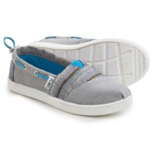 TOMS Bimini Espidrilles (For Little and Big Kids) in Navy - Closeouts