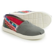 TOMS Bimini Shoes - Slip-Ons (For Little and Big Kids) in Multi - Closeouts