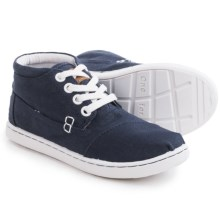 TOMS Botas Classic Chukka Boots (For Little and Big Kids) in Navy - Closeouts