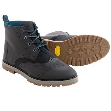 TOMS Brogue Wingtip Boots (For Men)